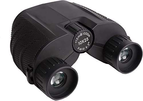 Anchorfield 10×25 Compact Binoculars for Adults and Kids, Small Binoculars for Concerts, Bird Watching, Hunting, Travel, and Sports Games