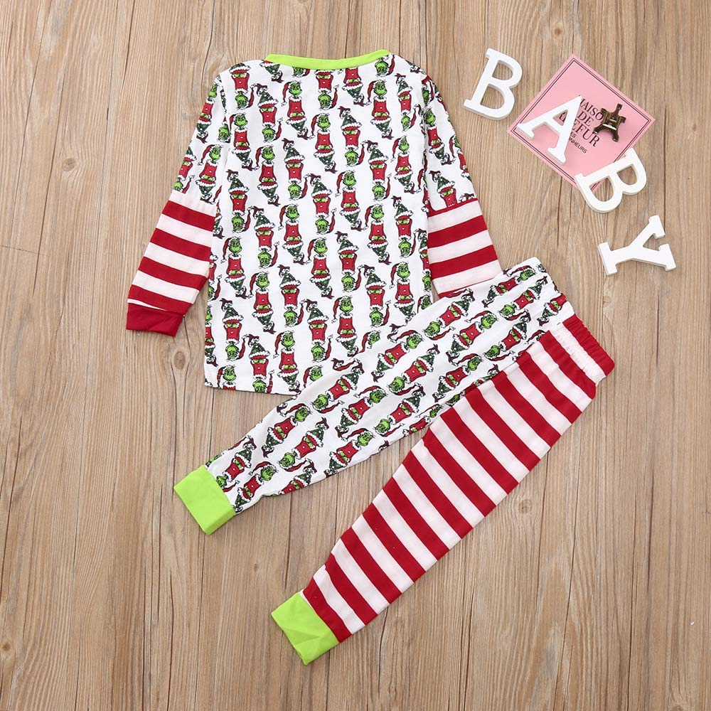 HLHN Baby Boys Girls Outfits Clothes Set Hooded Rabbit Ears Tops+Pants Pajamas T-Shirt Toddler Kids Pullover Winter Newborn 2PCS