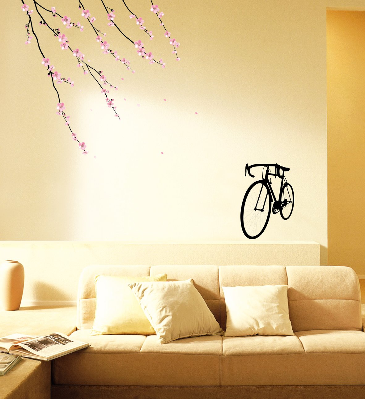 Amazon.com: HYUNDAE Sheet Easy Instant Home Decor Wall Sticker Decal ...