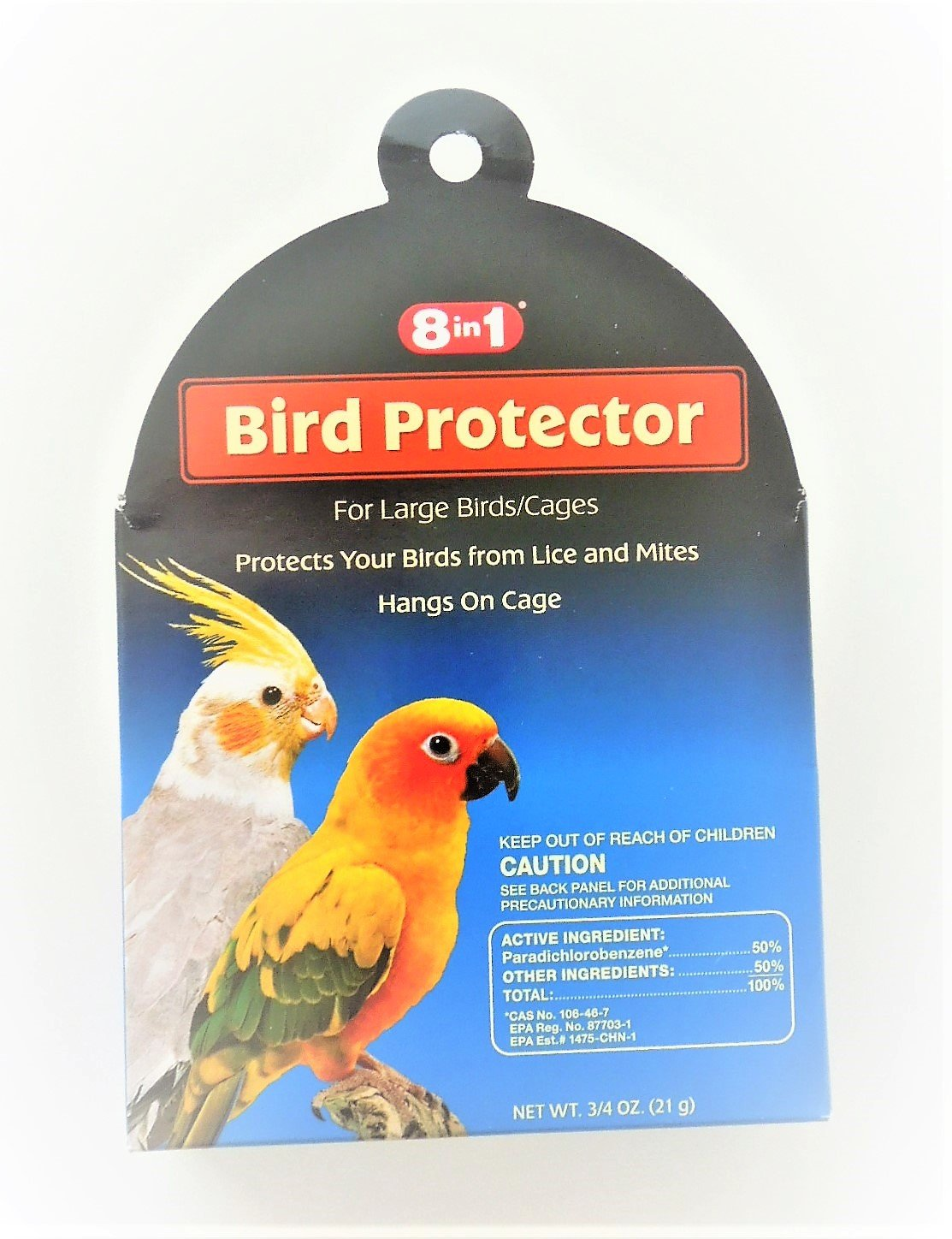 Bird Protector [Set of 2] Size: 0.75 oz. ecotrition