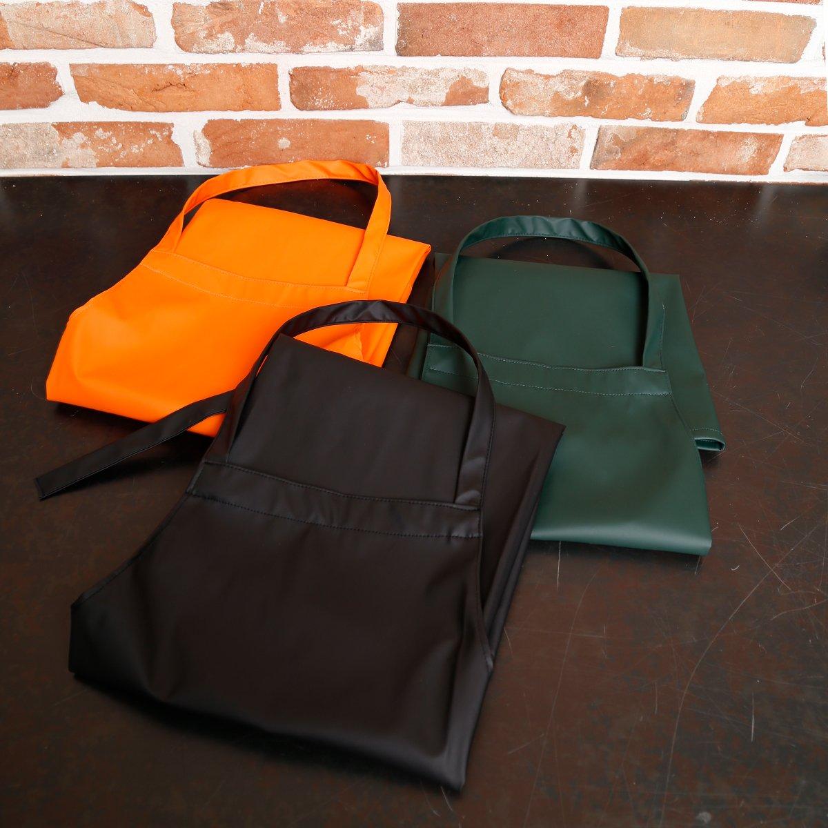 Barista Green Salon de Stephanie Vinyl Waterproof Apron Lightweight Wide Double Pocket