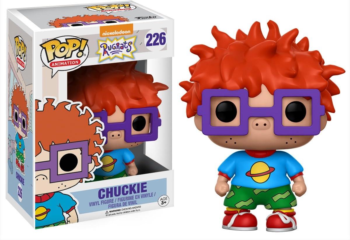 Funko Vinyl: Rugrats: Chuckie Finster (13057): Amazon.es: Juguetes ...
