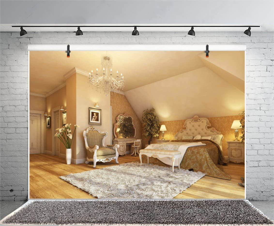 10X8FT-Family Room Bed Decoration Photography Backdrops High End Pattern Photo Studio Background