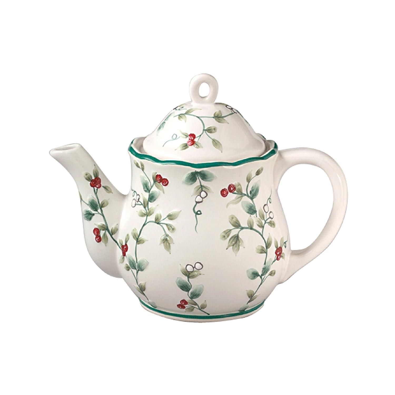Pfaltzgraff Winterberry Sculpted Teapot 109A1300