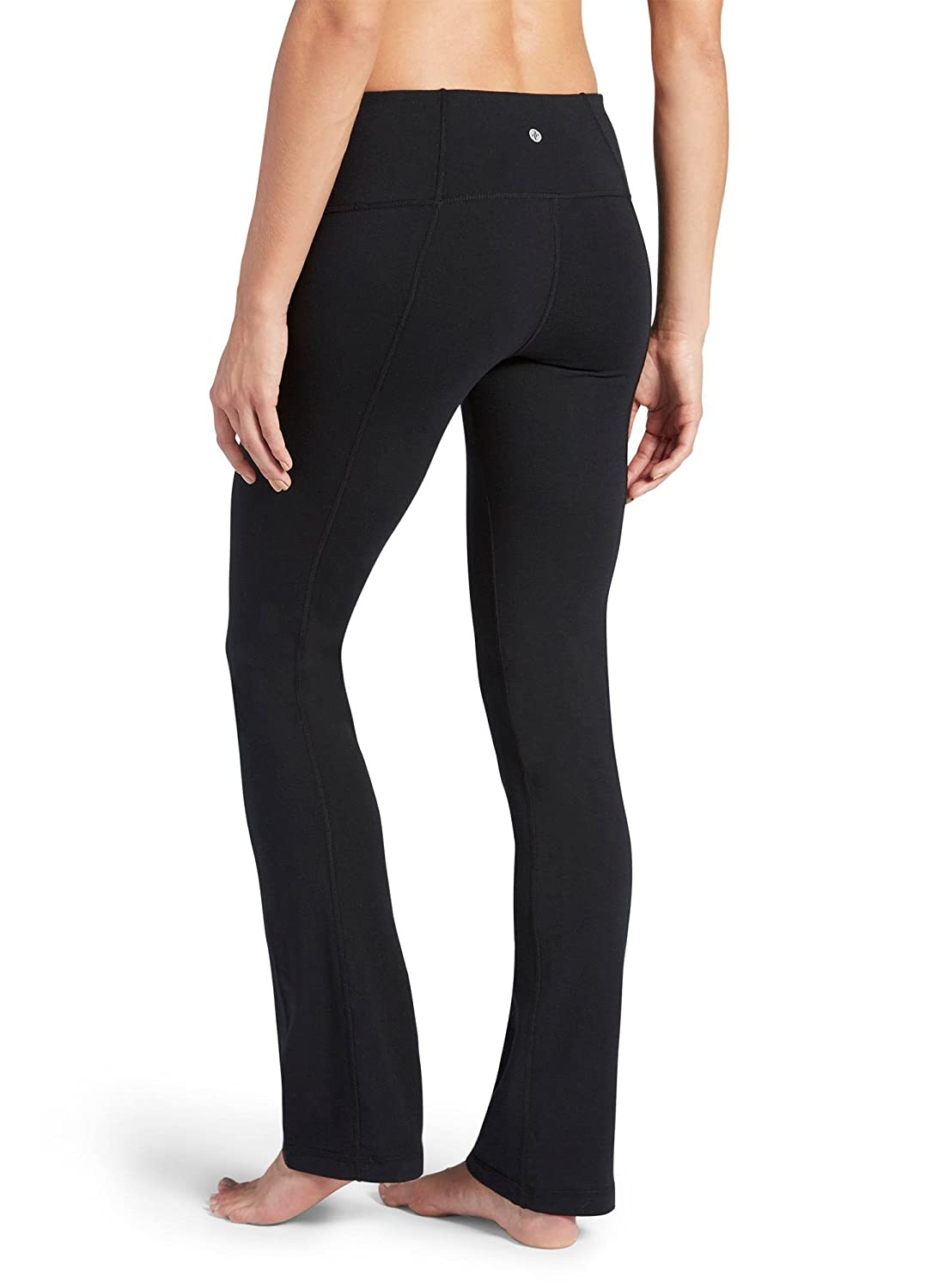 f7d4a98d8f76ed Jockey Women s Activewear Cotton Stretch Slim Bootleg Pant at Amazon Women s  Clothing store
