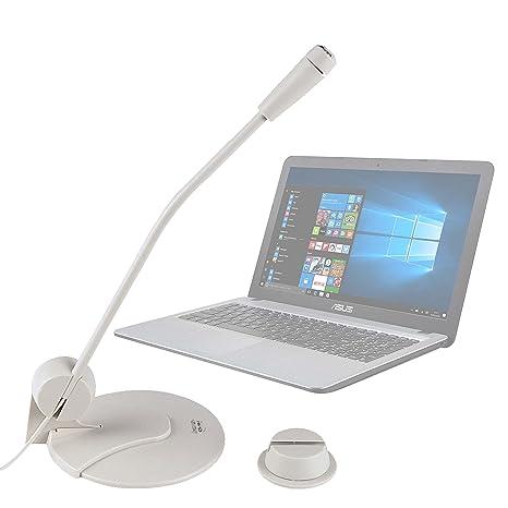DURAGADGET Micrófono De Sobremesa para Ordenador portátil ASUS ROG G752VS OC Edition | GL502VM | GL502VS