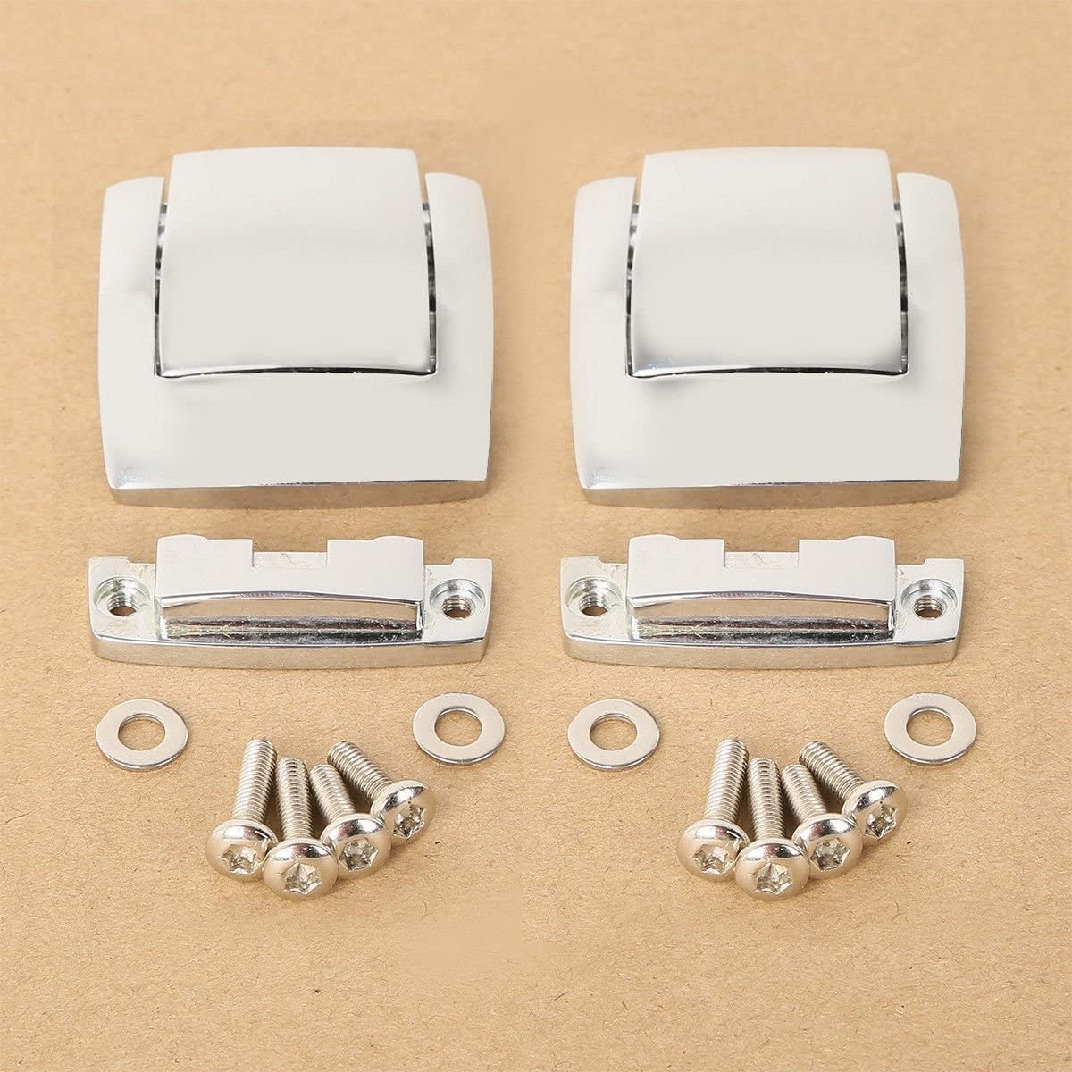 TCMT Tour Pack Pak Latches For Harley Davidson Classic Electra Glide Ultra 80-13