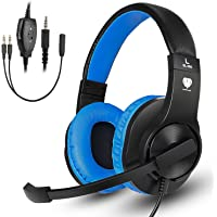 Greatever Stereo Over-Ear 3.5mm Wired Gaming Headphones