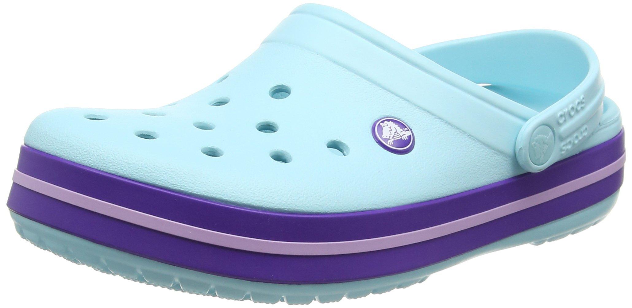 Crocs Crocband Ice Blue Low Top Rubber Flat Shoe - 7M/5M