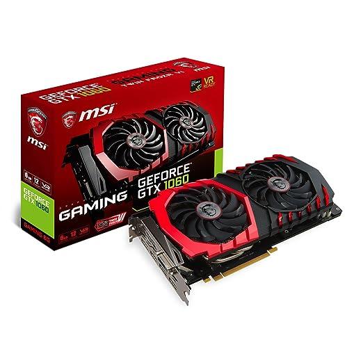 16 opinioni per MSI GeForce GTX 1060 Gaming 6G Scheda Grafica, Interfaccia PCIe 3.0, 6 GB GDDR5,