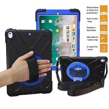 iPad Pro 10,5 caso, braecn 360 Degree soporte giratorio ...