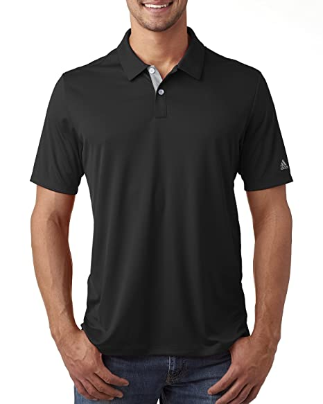 90529823 Amazon.com: adidas Golf Mens Gradient 3-Stripes Polo (A206): Sports ...