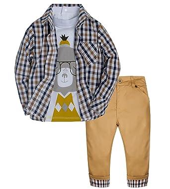 71f3f0e8b2cb Amazon.com  Catawe Baby Boy Suit