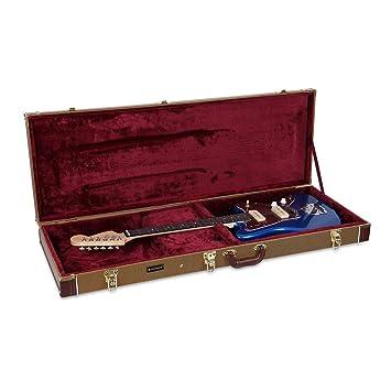 Crossrock Deluxe - Funda rígida de madera para guitarras eléctricas ...