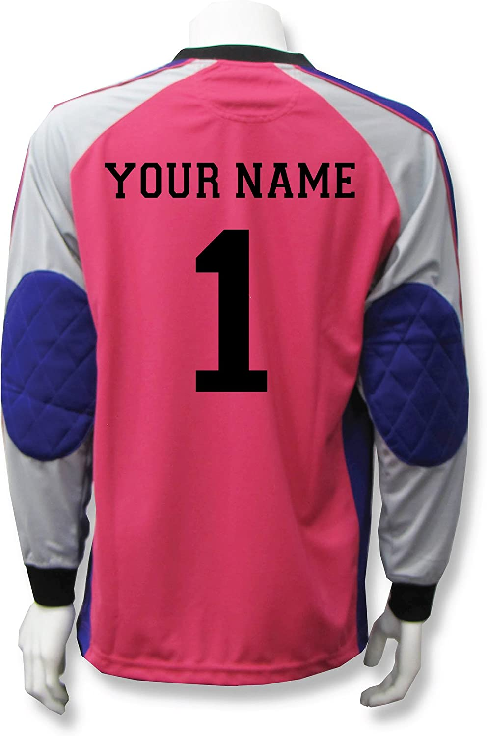 Long-Sleeve Soccer Goalkeeper Jersey Personalized with Your Name and Number