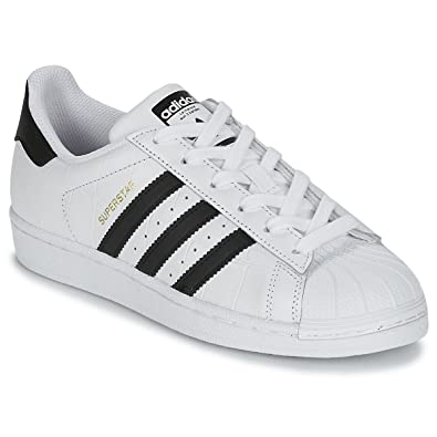 sports shoes bd247 5e802 adidas Superstar, Chaussures de Fitness Homme, White Black, 42 EU