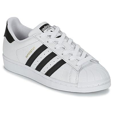 adidas Originals Superstar J Damen Sneaker Weiß, Grö | real
