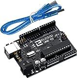 ELEGOO UNO R3 Board ATmega328P ATMEGA16U2 with USB Cable Compatible With Arduino UNO R3 Mega 2560