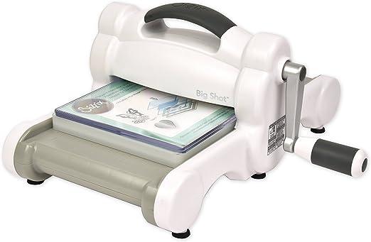 Sizzix 660200-Máquina de Troquelado Manual para Manualidades ...