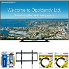 """Sharp 70"""" Full HD Commercial LED-LCD TV (PN-LE701) with Xtreme TV/LCD Screen Cleaning Kit, Xtreme Ultra Slim Low Profile Flat Wall Mount for 60-100 Inch TVs &2 x 6ft High Speed HDMI Cable Black"""