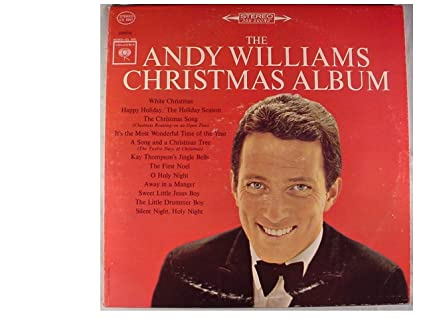Andy Williams Christmas.The Andy Williams Christmas Album Original Recording