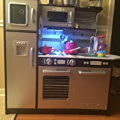Amazon Com Kidkraft Uptown Espresso Kitchen Toys Amp Games