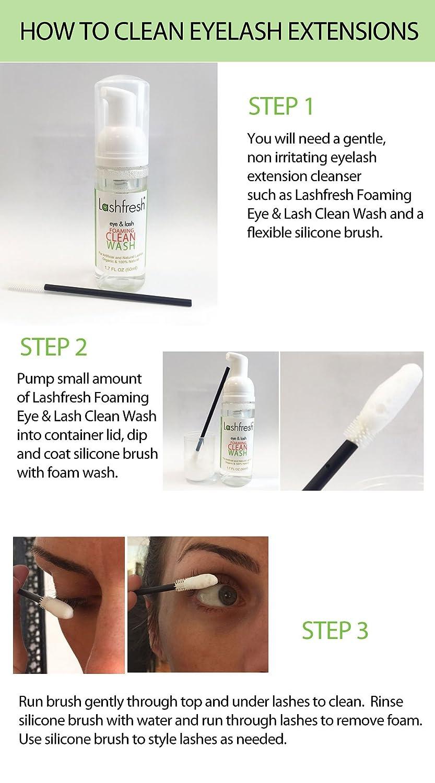 Amazon Lashfresh Foaming Eye Lash Clean Wash For Eyelash