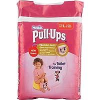 Huggies Pull-Ups Calzoncillos de Aprendizaje para Niña, 22