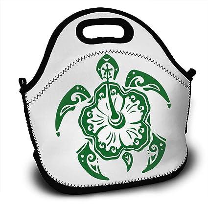 Amazon Rofeiso Stylish Hawaiian Turtle Lunch Bag Tote Soft
