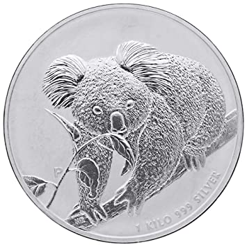 1 Kilo Australien 2010 Silbermünze 30 Aud Koala 9991000 Silber