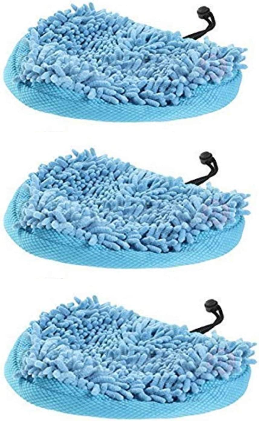 6 x Microfibre Steam Mop Pads for Pifco 6 in 1 PS001 Steam Cleaner Mop