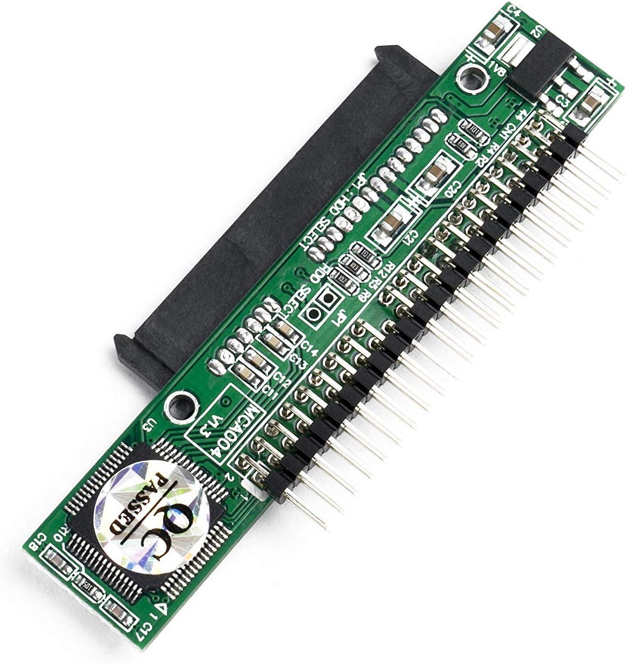 QNINE Adaptador SATA a IDE para computadora portátil, Convertidor ...
