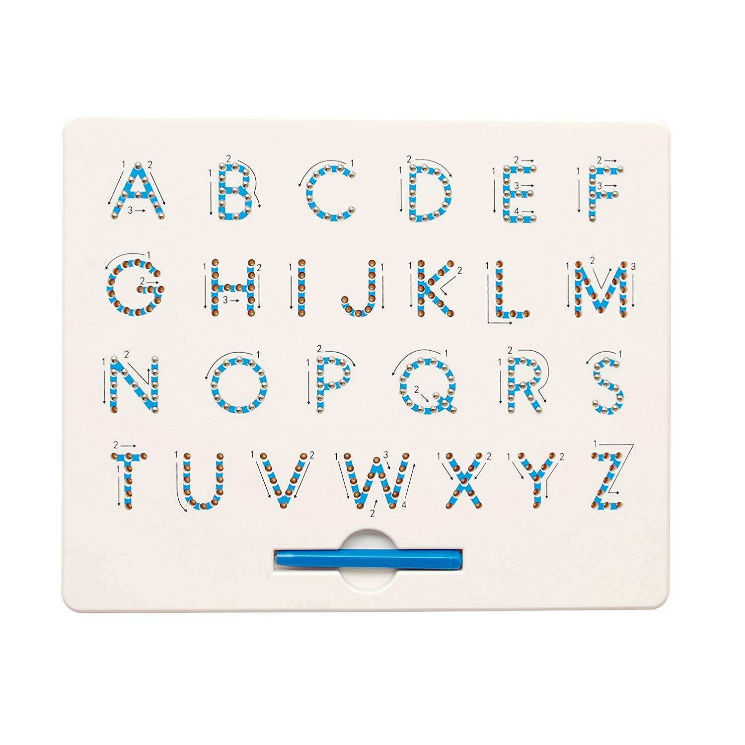Cretee A to Z Capital Letters Magnet Board for Kids Educational Toy Magnetic Balls Tablet by Cretee