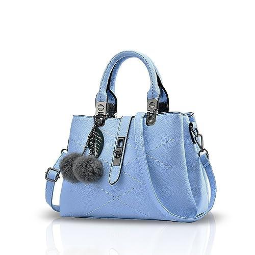 4b16d091145 NICOLE   DORIS Women s PU Messenger Bag (Azure)  Amazon.in  Shoes   Handbags