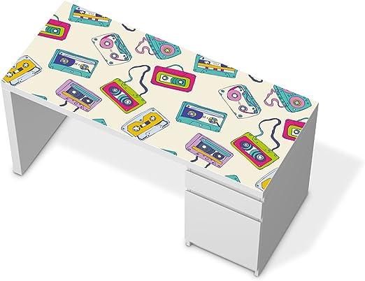 Vinilo adhesivo para IKEA solía tablero de la mesa de escritorio ...
