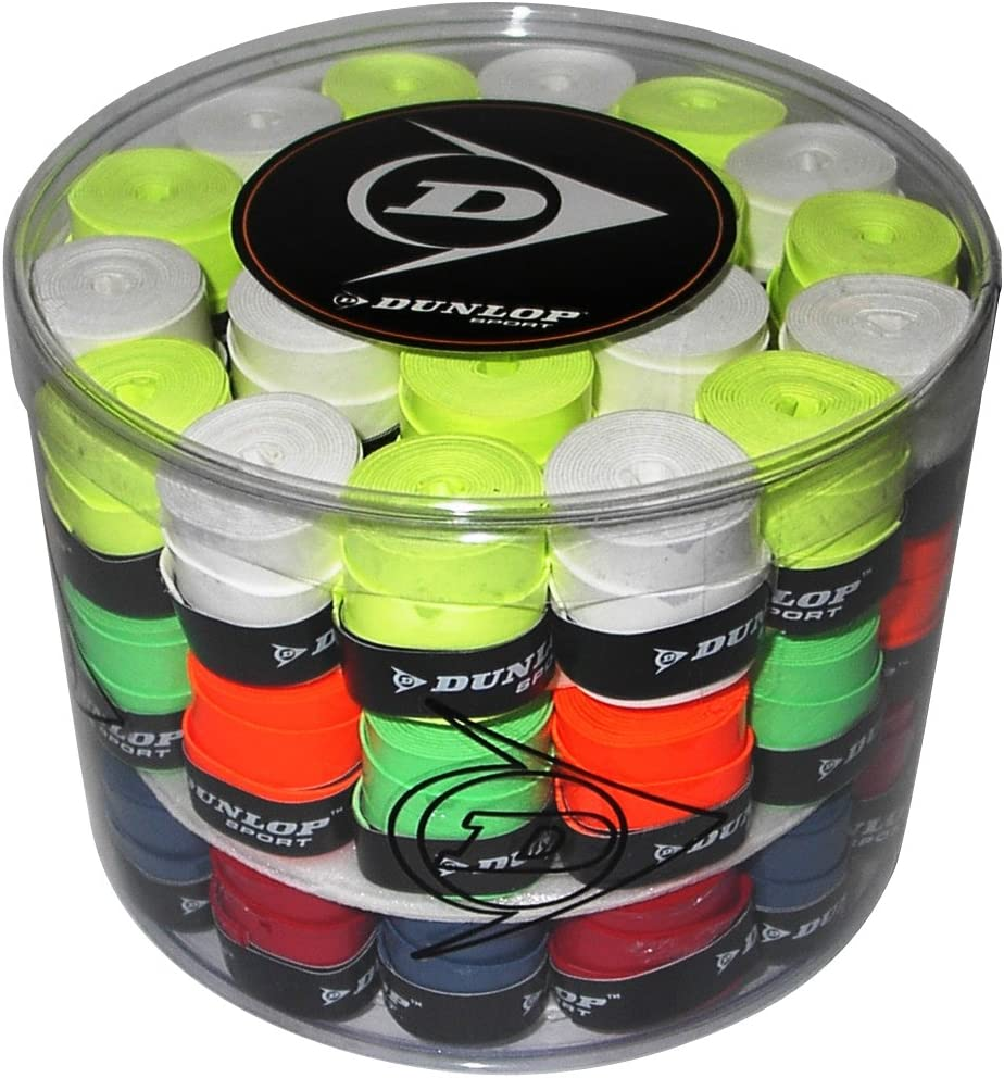 DUNLOP Tour Pro - Bote de 60 Unidades overgrip, Multicolor: Amazon ...