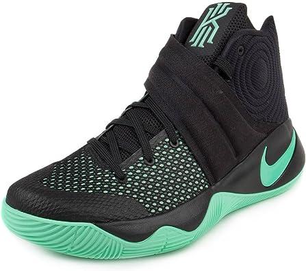Nike Mens Kyrie 2 Black/Green Glow