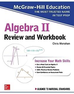 McGraw-Hill Education Algebra I Review and Workbook: Sandra Luna