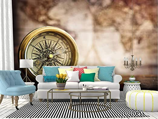 Amazon Com Wall Mural Compass Nautical Background Stock Pictures Royalty Free Photos Peel And Stick Wallpaper Self Adhesive Wallpaper Large Wall Sticker Removable Vinyl Film Roll Shelf Paper Home Decor Home Kitchen