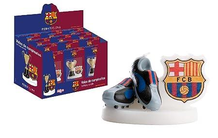 dekora - Vela cumpleaños 7 cm FC Barcelona (346112)