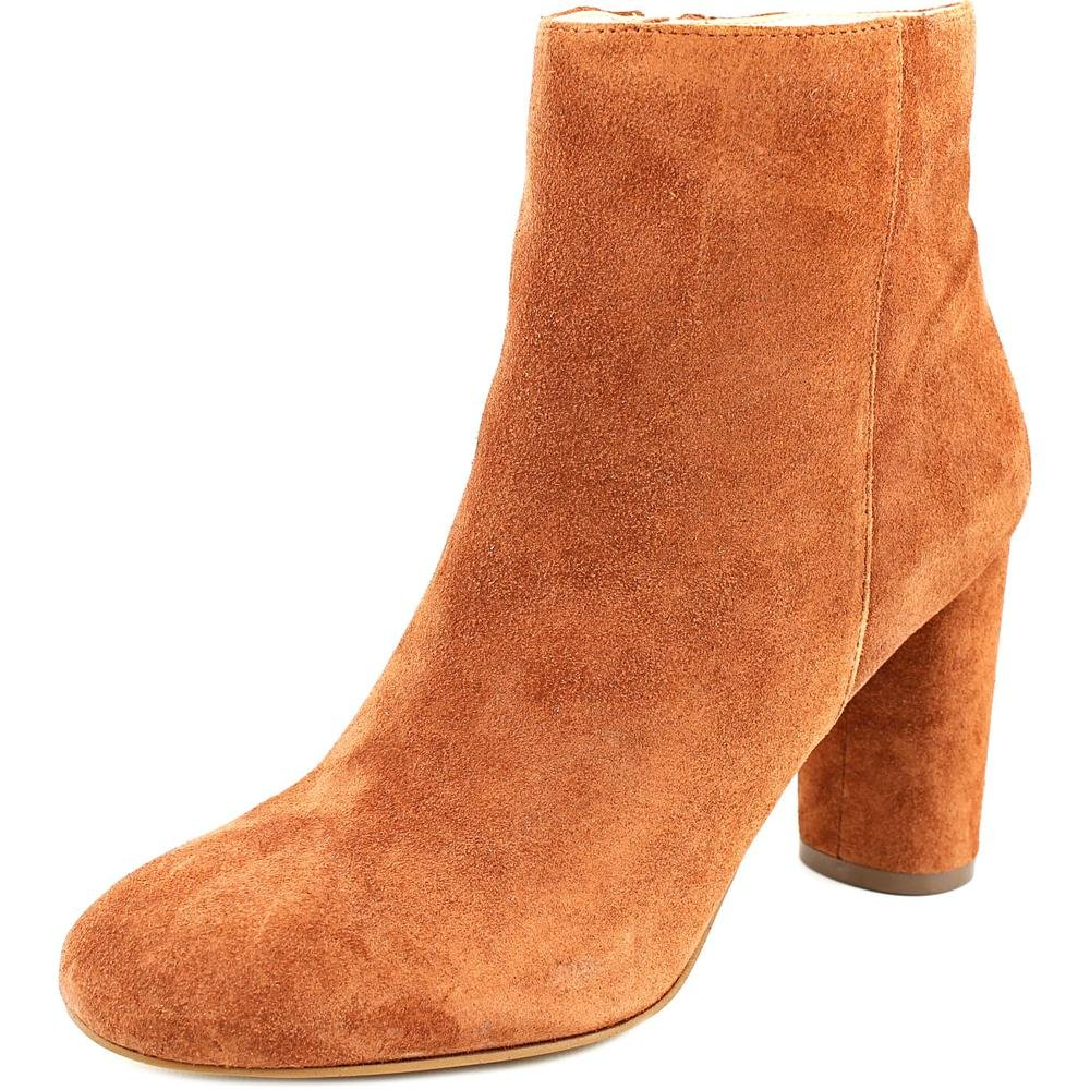 INC International Concepts Womens Taytee Leather Closed Toe Ankle Fashion Boots B075KLMW1M 7 M US|Spiced Orange