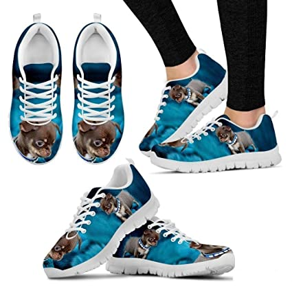 9af7928cd65a3 Amazon.com : Chihuahua Dog Running Shoes - Dog Lovers Gifts - Custom ...