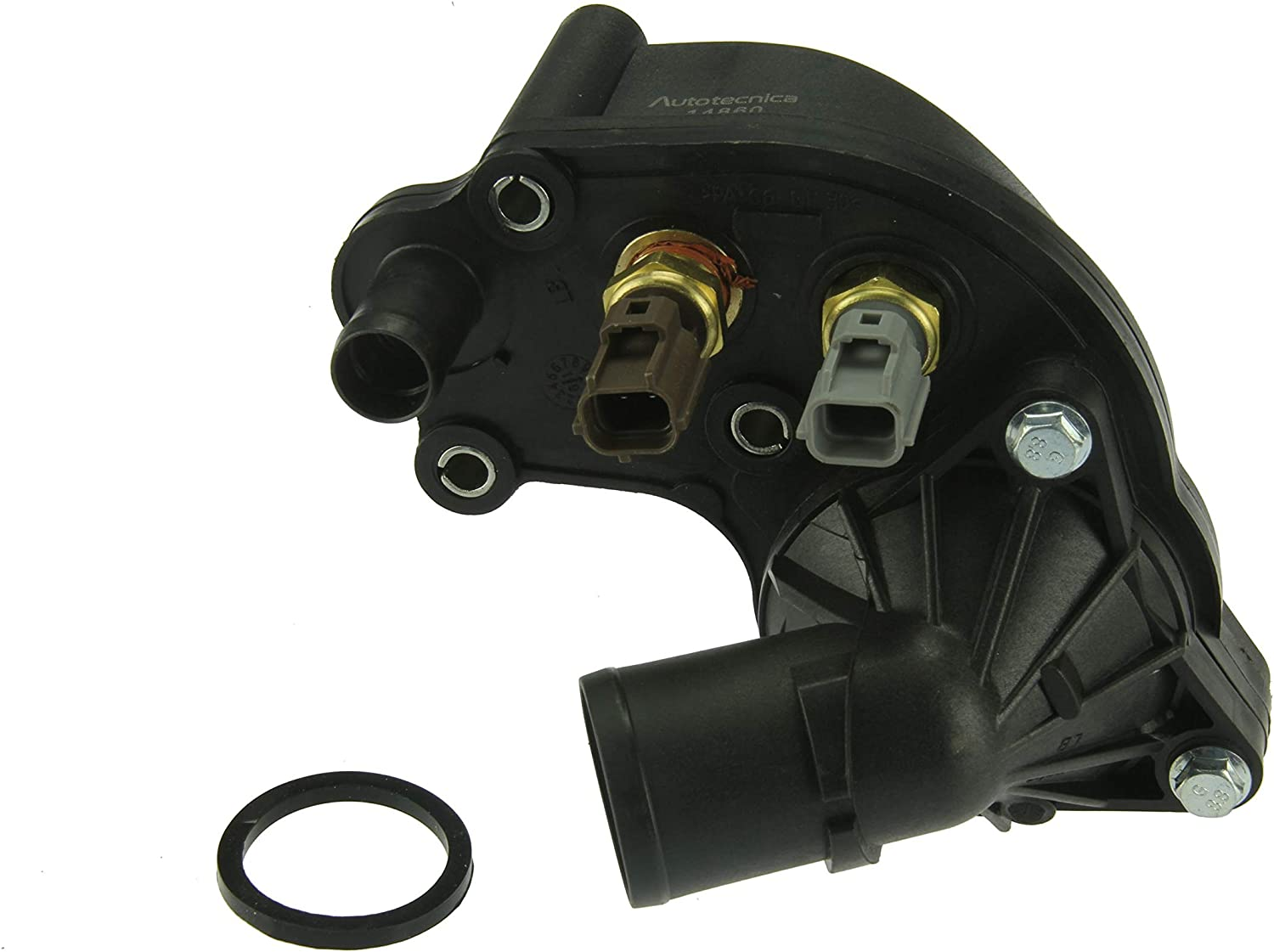 Includes Temp Sensors Thermostat Housing Thermostat and Water Outlet Autotecnica Thermostat Assembly Seals
