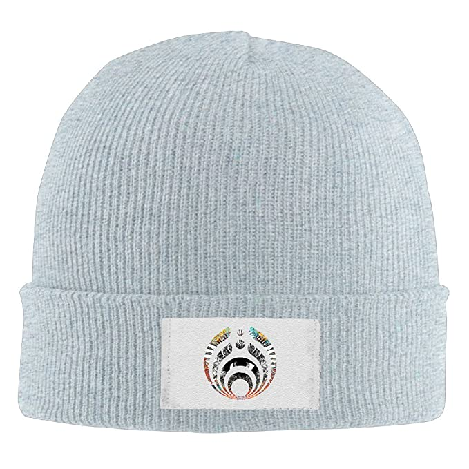 Bassnectar Icon Solid Logo Toboggan Hat Slouchy Beanie Winter 2016 Woolen  Cap Stockings Hat 6c7891b25f4