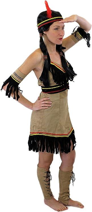 Set guay: disfraz feminino, India Apache, Mujer apache, Squaw ...