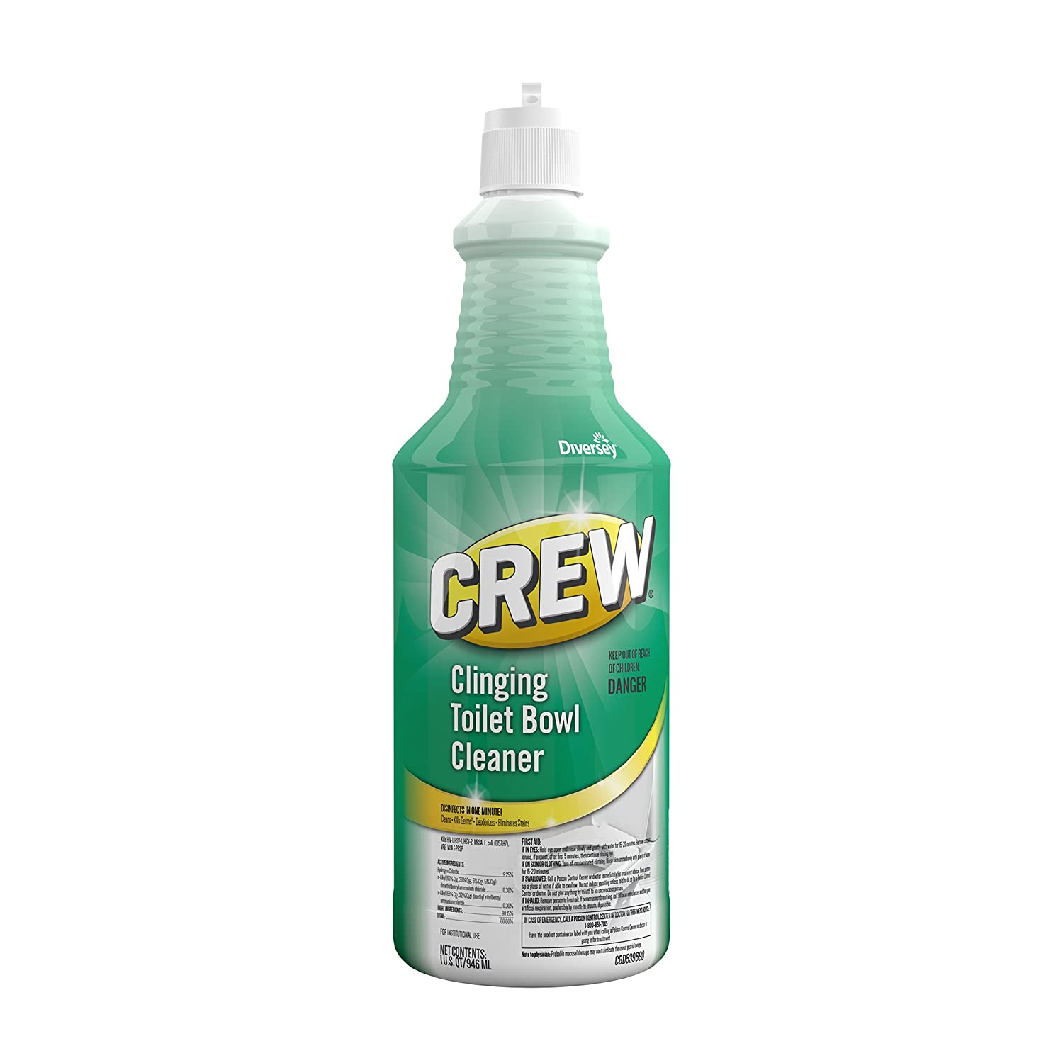 Amazon.com: Diversey Crew Clinging Toilet Bowl Cleaner Squeeze ...