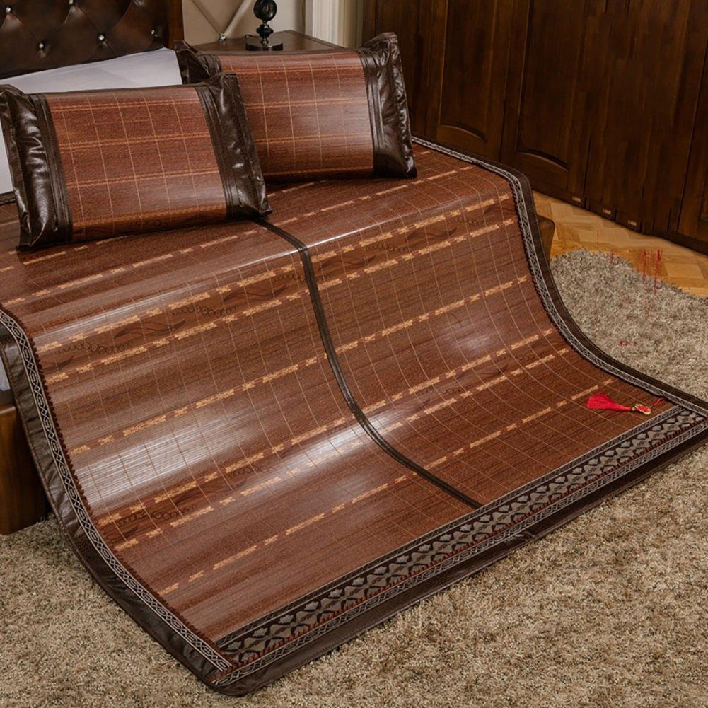 夏の寝床マットカーテンフォールディングマット両面使用可能 (サイズ さいず : W150*L195cm) B07F5ZYFNV W150*L195cm W150*L195cm