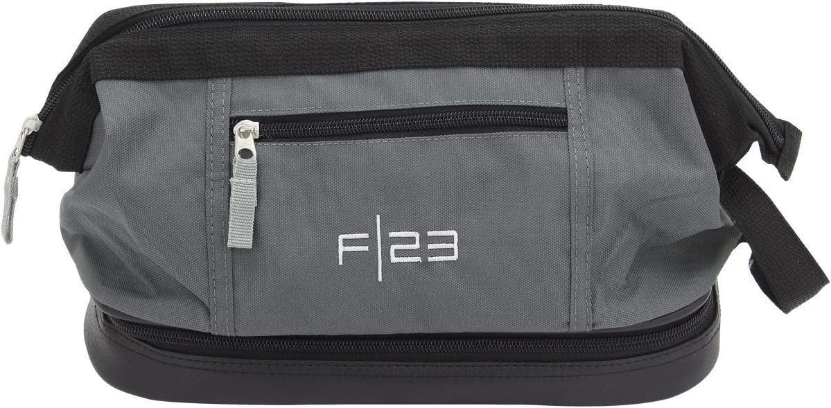 polyester 29 cm gray 23 culture bag with wet compartment F