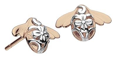 Kit Heath Blossom Bumblebee Gold Plate Stud Earrings 1fQhCz