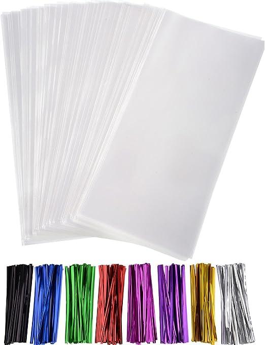 Amazon.com: Outus - 300 bolsas para golosinas transparente ...